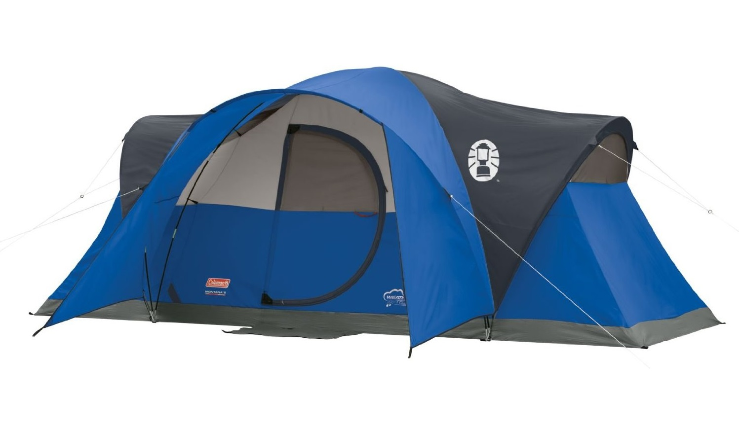 輸入テント ブルー コールマン テント モンタナ 8人用 ドームテント 大型テント Coleman Montana 8-Person Tent Blue
