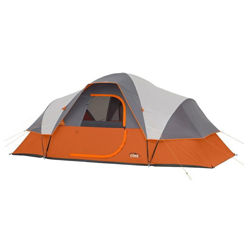 【5%オフクーポン発行中】アウトドア 輸入 テント コアエクイップメント 大型 9人用 大型 ドームテント CORE 9 Person Extended Dome Tent