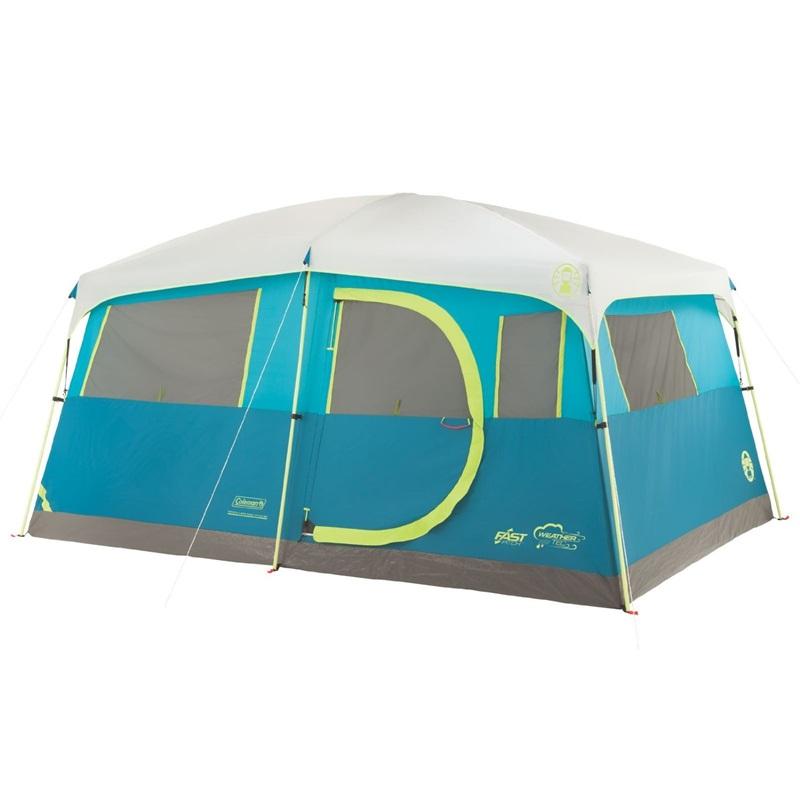 輸入テント コールマン テント コールマン テント 8人用 収納付 キャビンテント 大型テント Coleman 8 Person Tenaya Lake Fast Pitch Cabin Tent with Closet
