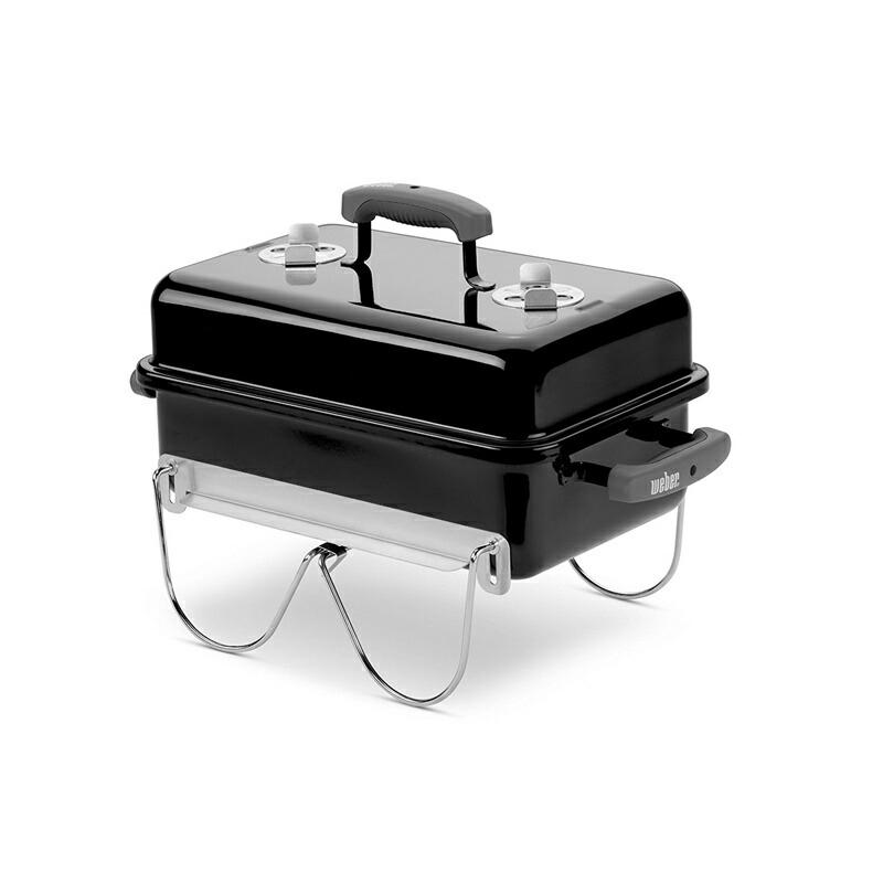 weber (ウエーバー) 121020 Go-Anywhere チャコールグリル バーベキュー BBQ グリル バーベキューコンロの定番 Made in USA