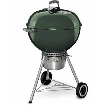 weber (ウエーバー) ワンタッチ オリジナルケトル プレミアム 57cm(22.5Inch) 温度計付 Weber 14407001 Original Kettle Premium Charcoal Grill 22-Inch,Green
