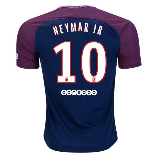 パリ サンジェルマン ネイマールJR 2017/18 ホーム ユニフォームNike Neymar Paris Saint-Germain Home Jersey 17/18 (正規品:オフィシャル商品です)