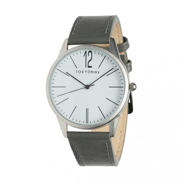 20%オフクーポン+キャッシュレス5%還元 トーキョーベイ レディース メンズ 婦人 腕時計 Jones ジョーンズ (グレイ)