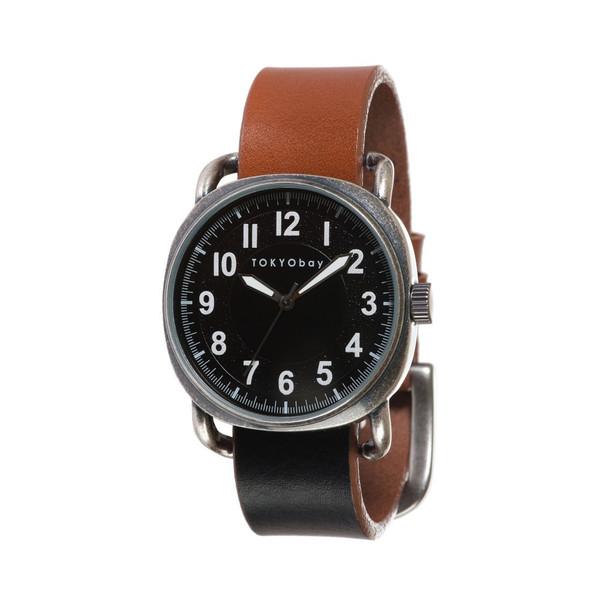 トーキョーベイ] TOKYObay メンズ 腕時計 スタンダード アナログウォッチ T615 インク Ink Black