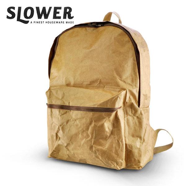 SLOWER BACKPACK バックパック リュックサック デイバッグ カバン 鞄 デュポン タイベック 送料無料/あす楽