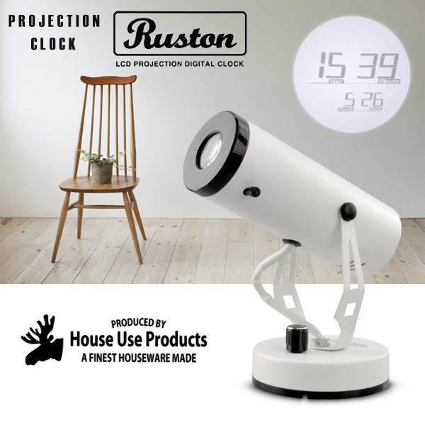 投射钟表Ruston RAS吨投影机墙壁装饰钟表喜爱的漂亮的影子钟表钟表/
