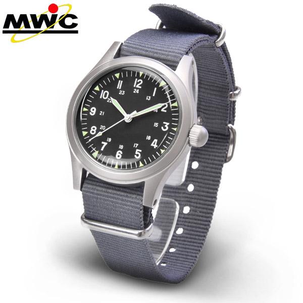 送料無料 ドイツ製 MWC 1960's アメリカ軍 ミリタリースタイル 自動巻 オートマチック メンズ 腕時計 ミリタリーウォッチカンパニー スポーツウォッチ あす楽