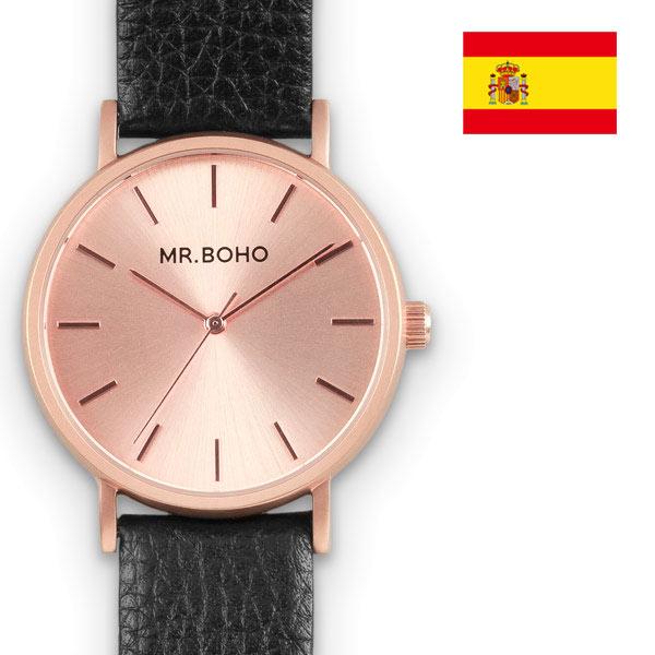 正規品 ブランド腕時計 MR BOHO ミスターボーホー METALLIC CADET メタリックカデット レザーモデル メンズ 腕時計 ファッションウォッチ