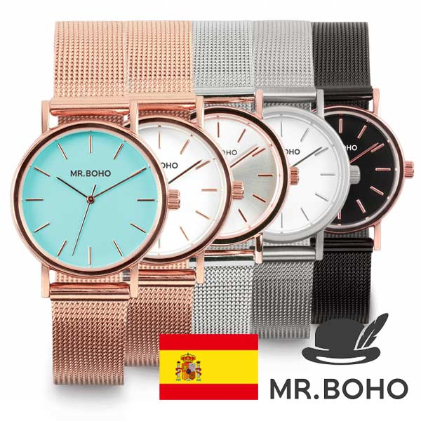 レディース 腕時計 MR BOHO ミスターボーホー METALLIC MINI メタリック ミニ 国内正規品 ブランド腕時計