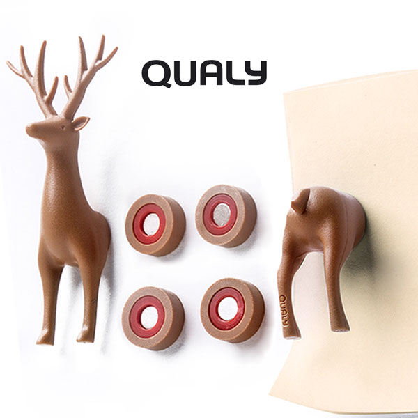 QUALY/シカのマグネット