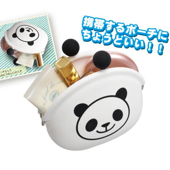 提供大熊猫 pocibig 熊猫红雀钱包钱包 pociseries 钱包腕带硬币把袋子放 / 袋