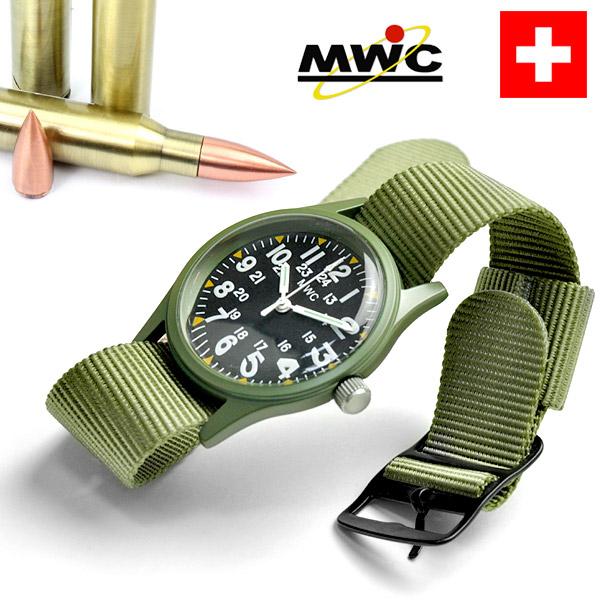 ドイツ製 ミリタリーウォッチカンパニー MWC メンズ 腕時計 アメリカ軍 時計 ミリタリースタイル NATOベルト ブランド MIYOTA あす楽
