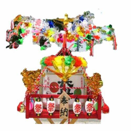 樽神輿(たるみこし)装飾キット 装飾方法解説書付 送料無料(北海道・沖縄など一部地域を除く)