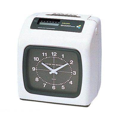 アマノ ホワイト 【1台】 [BX-6000-W] タイムレコーダー BX6000W