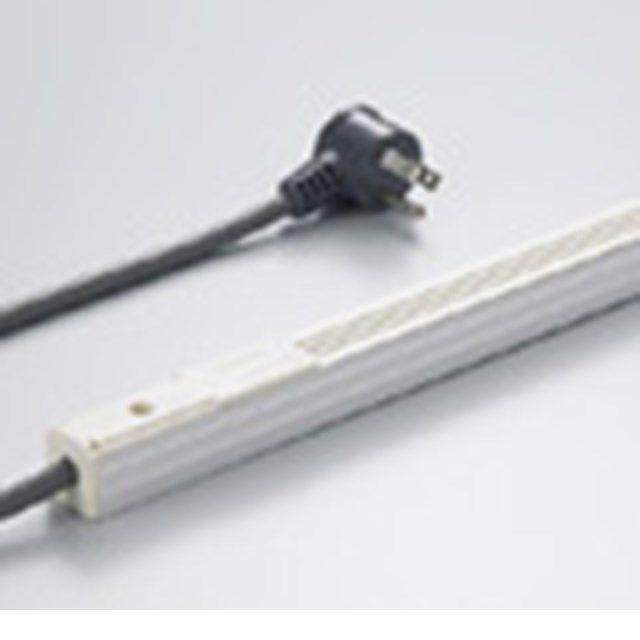 DNライティング LCD1000 ラインコンセント 露出用電源コード付き 1000mm アイボリー