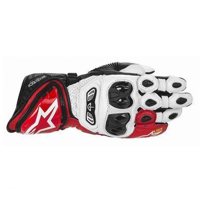 アルパインスターズ alpinestars 8051194155719 GP TECH LEATHER GLOVE 231 WHITE-RED-BLACK L