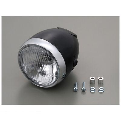 デイトナ DAYTONA 79160 ビンテージスモールヘッドライト ブラック