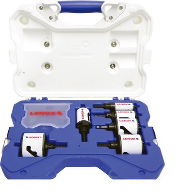 レノックス LENOX 34081600AE バイメタル軸付ホルソーセット電気工事用