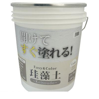 ワンウィル 3793060014 Easy&Color珪藻土 18kg オフホワイト