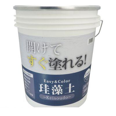 ワンウィル 3793060021 Easy&Color珪藻土 18kg ネイビブルー