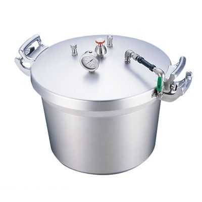 AAT15050 SAアルミ業務用圧力鍋 第2安全装置付 50l 4977449310716