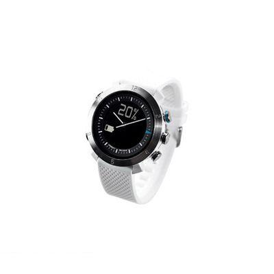 CONNECTEDEVICE 4562187616178 Bluetooth SMART対応アナログ腕時計 COGITO CLASSIC シリコンバンド ホワイト