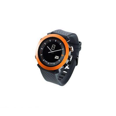 CONNECTEDEVICE 4562187616192 Bluetooth SMART対応アナログ腕時計 COGITO CLASSIC シリコンバンド オレンジ
