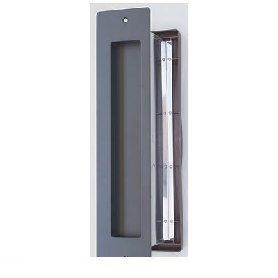 水上金属 NO3000-SIN-BK-T No3000ポスト タテ型 内フタ付気密型 真壁用 色:黒 NO3000SINBKT
