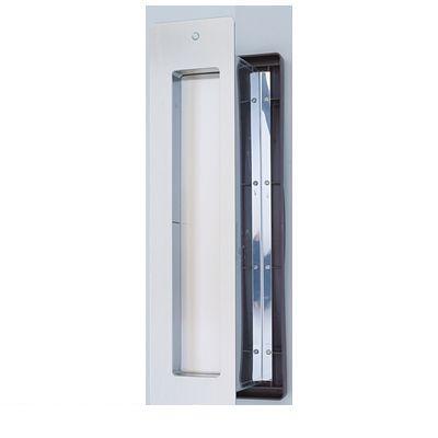 水上金属 NO3000-SIN-CL-T No3000ポスト タテ型 内フタ付気密型 真壁用 色:クリアー NO3000SINCLT