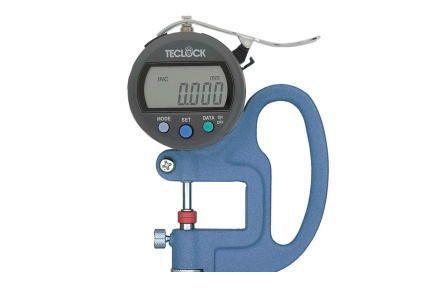 男女兼用 SMD565J:iDECA 店 TECLOCK デジタルシックネスゲージ テクロック SMD-565J-DIY・工具