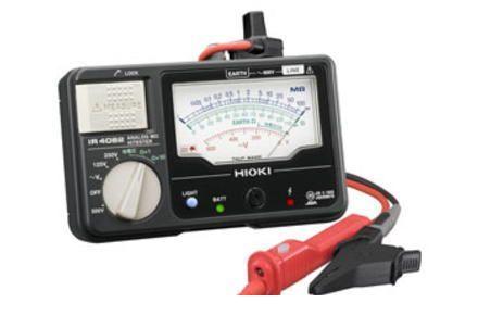 日置電機 IR4030-11 メグオームハイテスタ 3レンジ・L9788-11付 IR403011