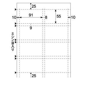 感謝価格 ヒサゴ LP10N カラーレーザ 名刺 高品質 カード8面