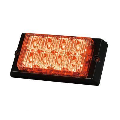 【個数:1個】日恵 NY9420DRR 直送 代引不可・他メーカー同梱不可 LED警告灯 ユニットライト【赤】 LED4連×2段
