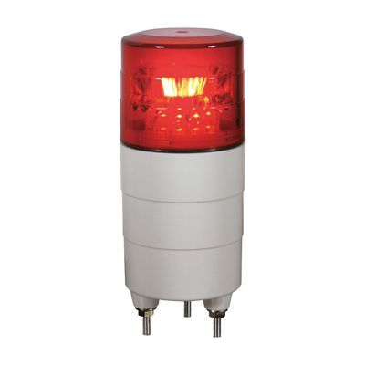 【個数:1個】日恵 VL04M-100NPR 直送 代引不可・他メーカー同梱不可 小型回転灯φ45 ニコミニ【赤】 100V VL04M100NPR