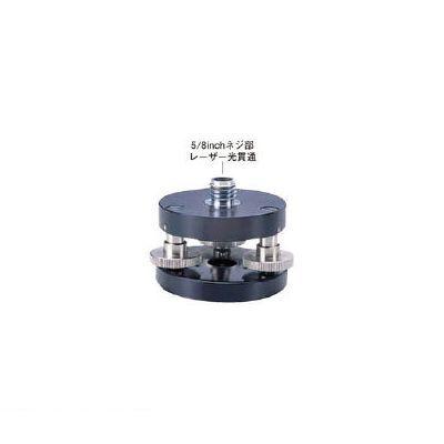 マイゾックス 213010 水平微調整三脚アダプター RL-TB