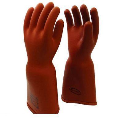 【個数:1個】渡部工業 550M 高圧ゴム手袋410mm胴太型M