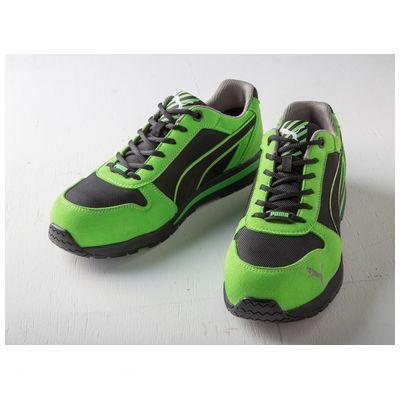 PUMA プーマ 4051428054652 PUMA SAFETY プーマセーフティスニーカー Airtwist Green【グリーン】Low 26.5cm 64.322.0
