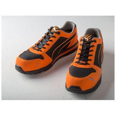 PUMA プーマ 4051428054713 PUMA SAFETY プーマセーフティスニーカー Airtwist Orange【オレンジ】 Low 25.0cm 64.323.0