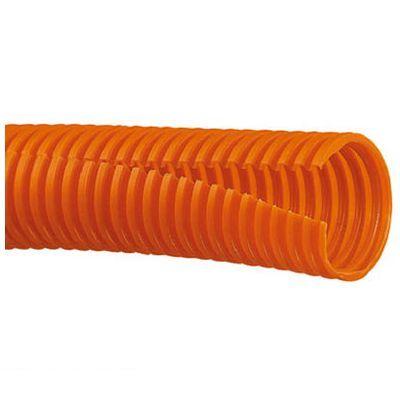 【個数:1個】パンドウイットコーポレーション日本支社 CLT75FC3 コルゲートチューブ ポリエチレン スリット付き オレンジ