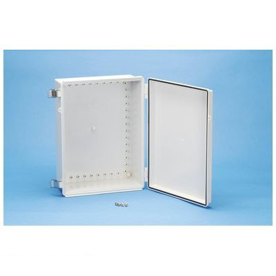 タカチ BCAP405020G 直送 代引不可・他メーカー同梱不可 BCAP型防水・防塵開閉式プラボックス カバー/ホワイトグレー・ボディー/ホワイトグレー