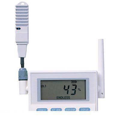 チノー MD8002N00 CHINO 監視機能付き無線ロガー 送信器 温湿度センサ直付けモデル