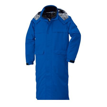 4930269165836 bigborn 8389 スーパーロングコート 色:ブルー サイズ:L