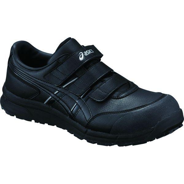 アシックス 4549846375249 FCP301 ウィンジョブ ブラック × ブラック 26.0cm