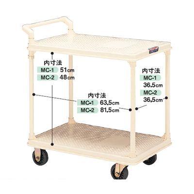 【個人宅配送不可】【個数:1個】矢崎化工 MC-1 直送 代引不可・他メーカー同梱不可 キャリーワゴン N-450W MC1