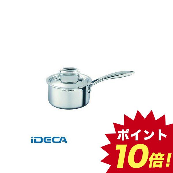 AP10953 ステンレス ビタクラフト・プロ 片手鍋 蓋付 16 0110