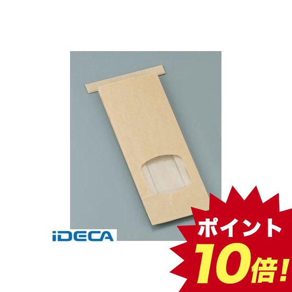 AP32709 クラフト窓付きティンタイ袋 ワイヤー付 S 500枚入