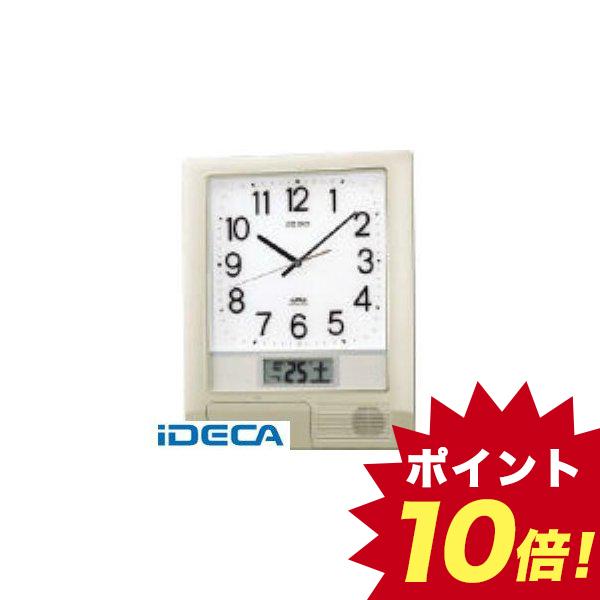 【個数:1個】BM67108 電波プログラムクロック 429×345×57 銀色メタリック