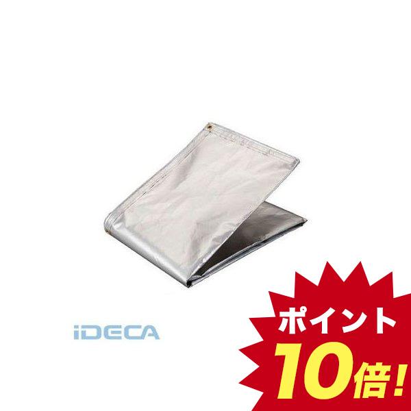 【個数:1個】BW01101 TRUSCO アルミ蒸着塩ビ遮熱シート 1.8×2.7M
