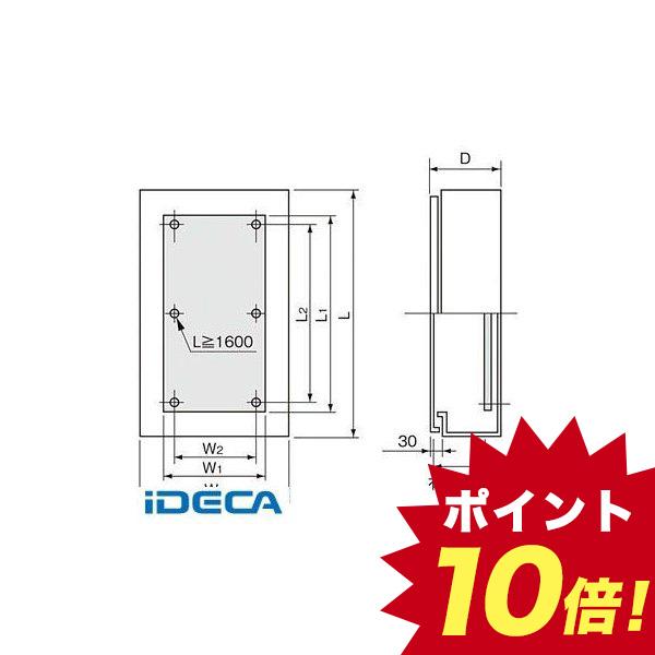 屋根無・木板付 盤用キャビネット屋外形 CR65260