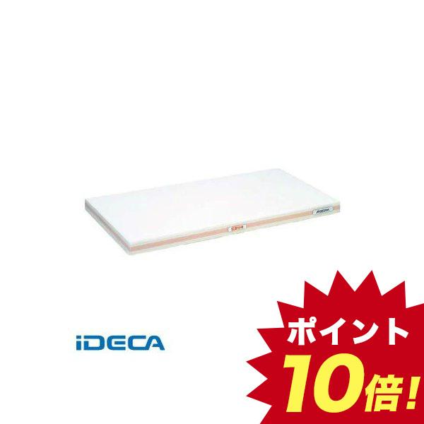 CV00091 抗菌かるがるまな板 SDK 600×300×25 ホワイト/桃線